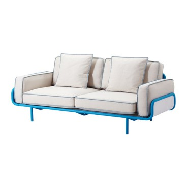 IKEA PS 2012 Sofa, blue, Svanby beige $899.00