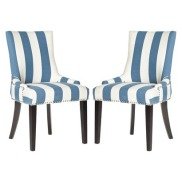 Safavieh Lola Dining Chair - Set of 2 in Blue