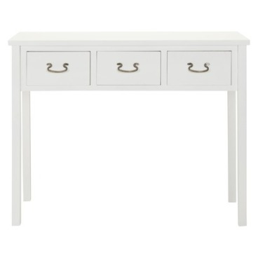 Safavieh Chloe Console Table in White